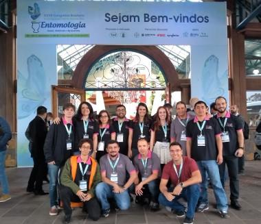 XXVII Brazilian Congress of Entomology and X Latin American Congress of Entomology in Gramado - RS, 2018.