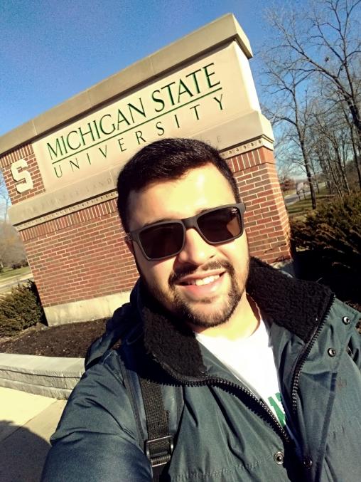 Wilson atualmente esta realizando parte do seu doutorado na Michigan State University, EUA.