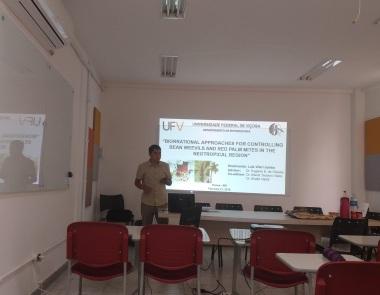 Luis Viteri Jumbo Ph. D. Thesis Defense, February, 2019.